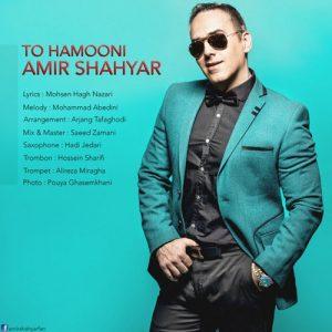 Amir Shahyar To Hamooni 300x300 - دانلود آهنگ جدید امیر شهیار به نام تو همونی