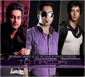 Behnam Safavi Ali Ashabi Farzad Farzin To Nazdiki 300x272 - دانلود آهنگ بهنام صفوی و علی اصحابی و فرزاد فرزین به نام تو نزدیکی