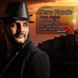 Arya Amjad Hese Khoob 300x300 - دانلود آهنگ آریا امجد به نام حس خوب