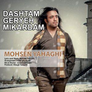Mohsen Yahaghi Dashtam Gerye Mikardam 300x300 - دانلود آهنگ محسن یاحقی به نام داشتم گریه میکردم