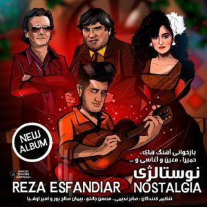 Reza Esfandiar Nostaliga 300x300 - دانلود آلبوم جدید رضا اسفندیار به نام نوستالژی