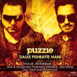Puzzle Band Dalile Pishrafte Mani 300x300 - دانلود آهنگ علی رهبری به نام دلیل پیشرفت منی