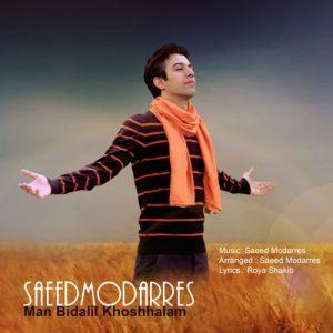 Saeed Modarres Man Bidalil Khoshhalam 300x300 - دانلود آهنگ جدید سعید مدرس به نام من بی دلیل خوشحالم