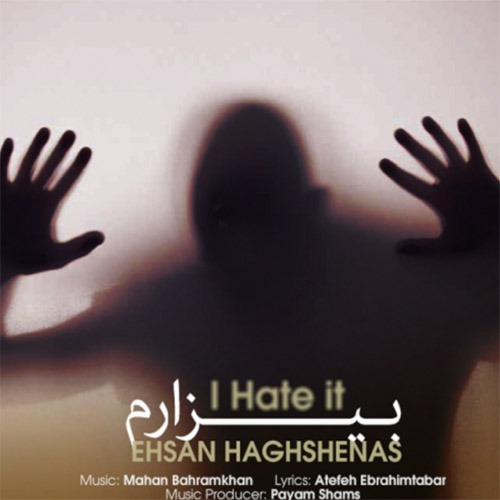 Ehsan Haghshenas Bizaram - دانلود آهنگ جدید احسان حق شناس به نام بیزارم