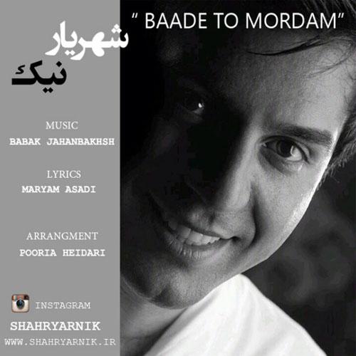 Shahryar Nik - Baade To Mordam