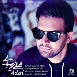 Ali Zibaei Adat 300x300 - دانلود آهنگ جدید علی زیبایی (تکتا) به نام عادت