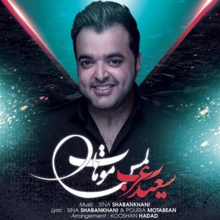 دانلود آهنگ جدید سعید عرب به نام لمس موهات