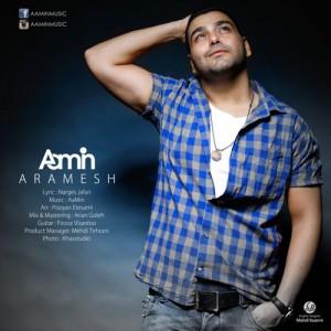 Aamin Aramesh 300x300 - دانلود آهنگ جدید آمین به نام آرامش