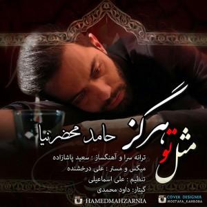 Hamed Mahzarnia Mesle To Hargez 300x300 - دانلود آهنگ جدید حامد محضرنیا به نام مثل تو هرگز
