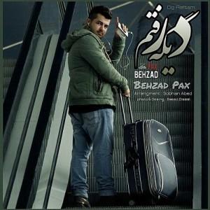 Behzad Pax Dige Raftam 300x300 - دانلود آهنگ جدید بهزاد پکس به نام دیگه رفتم