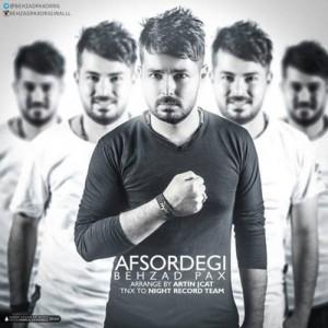 Behzad Pax Afsordegi 300x300 - دانلود آهنگ جدید بهزادپکس به نام افسردگی