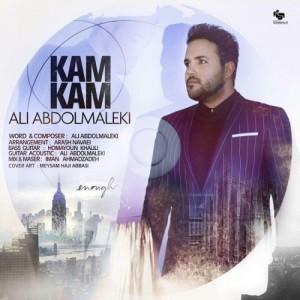 Ali Abdolmaleki Kam Kam 300x300 - دانلود آهنگ جدید علی عبدالمالکی به نام کم کم