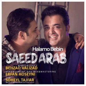 Saeed Arab Halamo Bebin 300x300 - دانلود آهنگ جدید سعید عرب به نام حالمو ببین