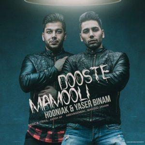 Hooniak Yaser Binam Dooste Mamooli 300x300 - دوست معمولی از هونیاک و یاسر بینام