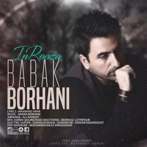 Babak Borhani In Roza 300x300 - دانلود آهنگ جدید بابک برهانی به نام این روزا