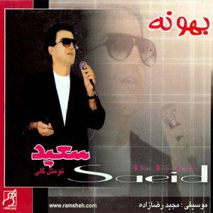 Saeid Poursaeid Bahoone 300x300 - دانلود آلبوم سعید پورسعید به نام بهونه