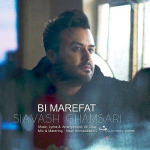 Siavash Ghamsari Bimarefat 300x300 - دانلود آهنگ جدید سیاوش قمصری به نام بی معرفت
