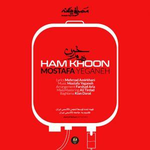 Mostafa Yeganeh Ham Khoon 300x300 - دانلود آهنگ جدید مصطفی یگانه به نام همخون