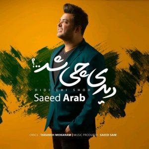 Saeed Arab Didi Chi Shod 300x300 - دانلود آهنگ جدید سعید عرب به نام دیدی چی شد