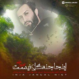 Amir Ali Inja Jangal Nist 300x300 - دانلود آهنگ جدید امیرعلی به نام اینجا جنگل نیست