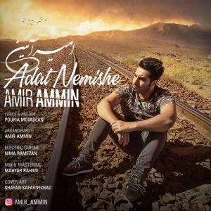 Amir Ammin Adat Nemishe 300x300 - دانلود آهنگ جدید امیر آمین به نام عادت نمیشه