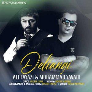 Ali Fayazi Mohammad Yavari Del Tangi 300x300 - دانلود آهنگ جدید علی فیاضی و محمد یاوری به نام دلتنگی