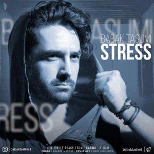 Babak Taslimi Stress 300x300 - دانلود آهنگ جدید بابک تسلیمی به نام استرس