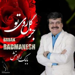 Babak Radmanesh Joz Gole Rooye To 300x300 - دانلود آهنگ جدید بابک رادمنش به نام جز گل روی تو