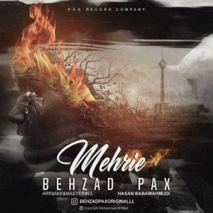 Behzad Pax Mehrie 300x300 - دانلود آهنگ جدید بهزاد پکس به نام مهریه
