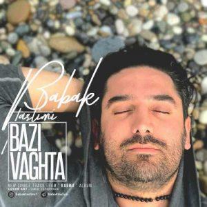 Babak Taslimi Bazi Vaghta 300x300 - دانلود آهنگ جدید بابک تسلیمی به نام بعضی وقتا