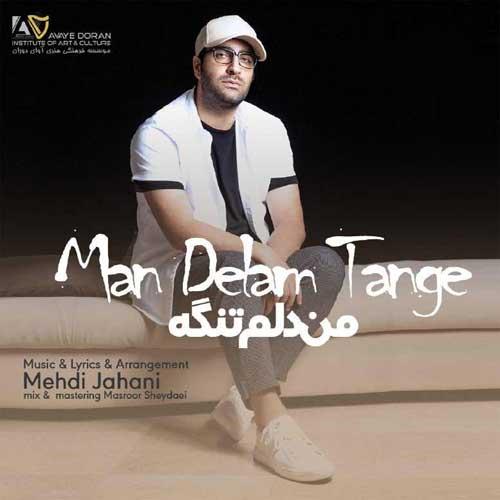 Mehdi Jahani Man Delam Tange - دانلود آهنگ جدید مهدی جهانی به نام من دلم تنگه