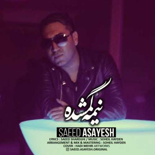 Saeed Asayesh Nimeye Gomshodeh - دانلود آهنگ جدید سعید آسایش به نام نیمه گمشده