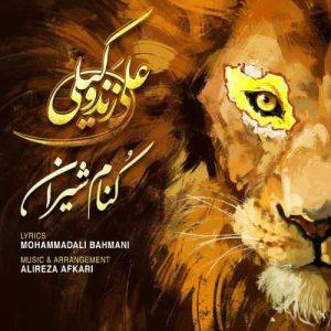 Ali Zand Vakili Koname Shiran 300x300 - دانلود آهنگ جدید علی زند وکیلی به نام کنام شیران