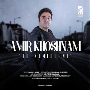 Amir Khoshnam To Nemidooni 300x300 - دانلود آهنگ جدید امیر خوشنام به نام تو نمیدونی