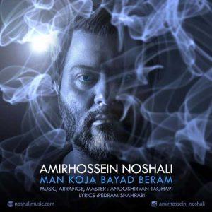 Amirhossein Noshali Man Koja Bayad Beram 300x300 - دانلود آهنگ جدید امیرحسین نوشالی به نام من کجا باید برم