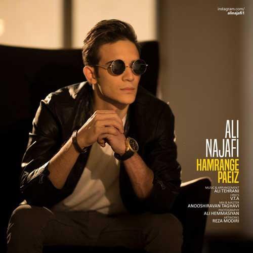 Ali Najafi Hamrange Paeiz - دانلود آهنگ جدید علی نجفی به نام همرنگ پاییز