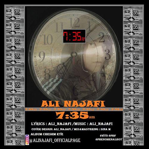 دانلود آهنگ جدید علی نجفی به نام 7:35
