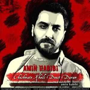 Amin Habibi Cheshmato Kheili Doost Daram 300x300 - دانلود آهنگ جدید امین حبیبی به نام چشماتو خیلی دوست دارم