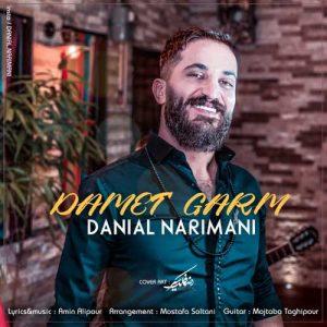 Danial Narimani Damet Garm 300x300 - دانلود آهنگ جدید دانیال نریمانی به نام دمت گرم