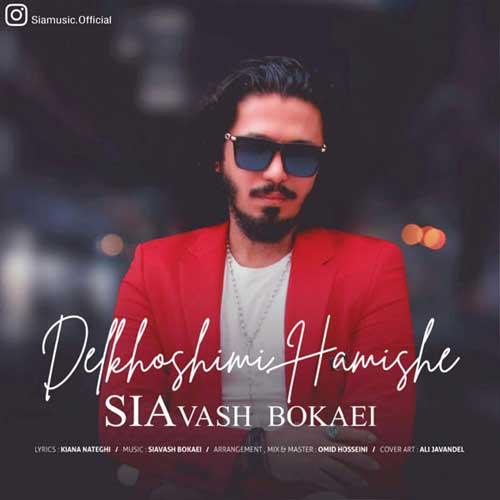 Siavash Bokaei Delkhoshimi Hamishe - دانلود آهنگ جدید سیاوش بکایی به نام دلخوشیمی همیشه