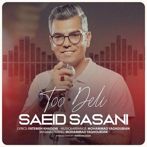 Saeid Sasani Too Deli - تو دلی از سعید ساسانی